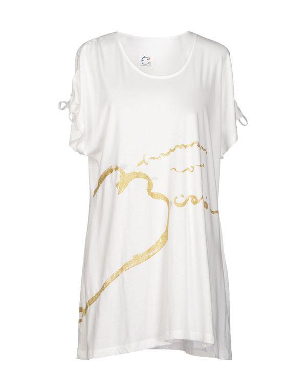 白色 TSUMORI CHISATO T-shirt