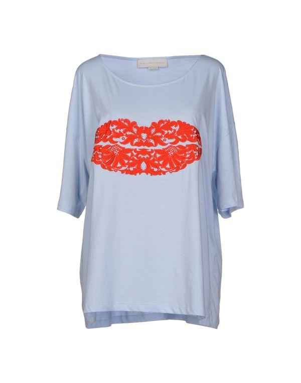 天蓝 STELLA MCCARTNEY T-shirt