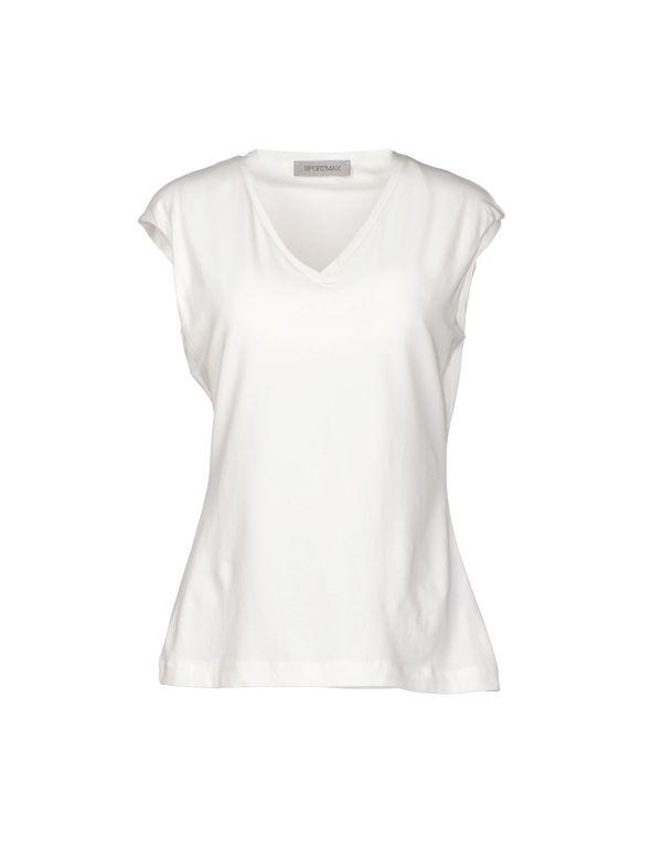 象牙白 SPORTMAX T-shirt