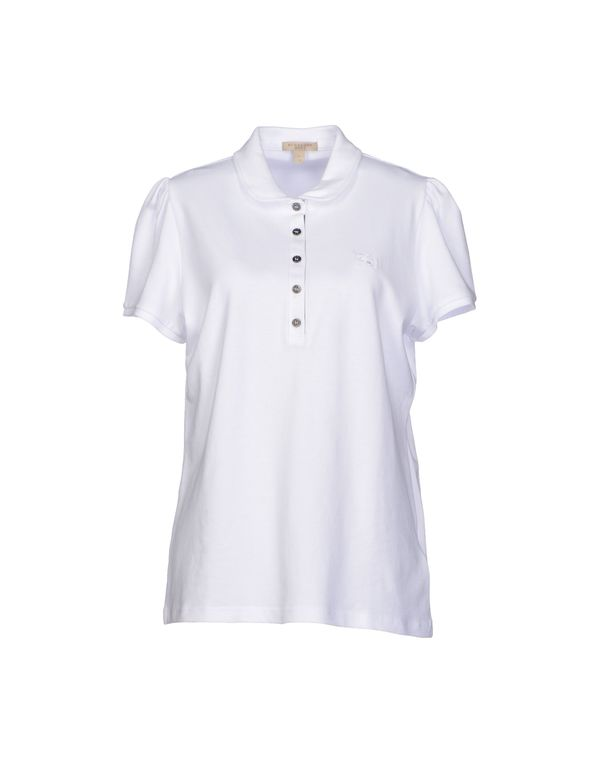 白色 BURBERRY BRIT Polo衫