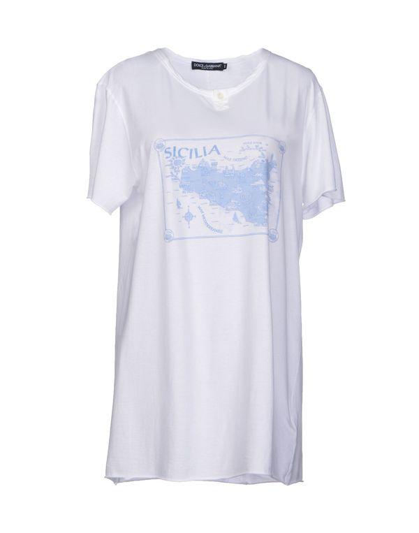 白色 DOLCE & GABBANA T-shirt