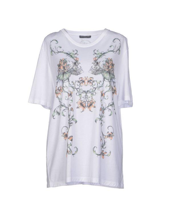 白色 ALEXANDER MCQUEEN T-shirt