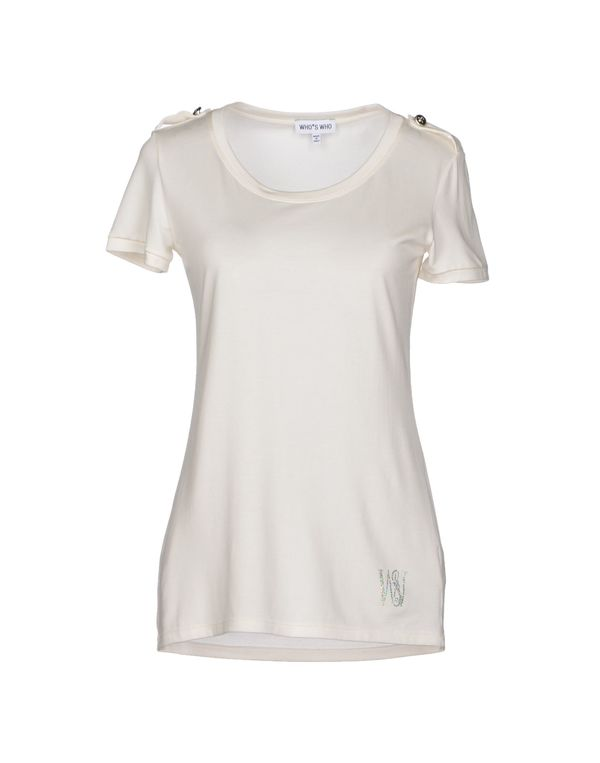 象牙白 WHO*S WHO T-shirt