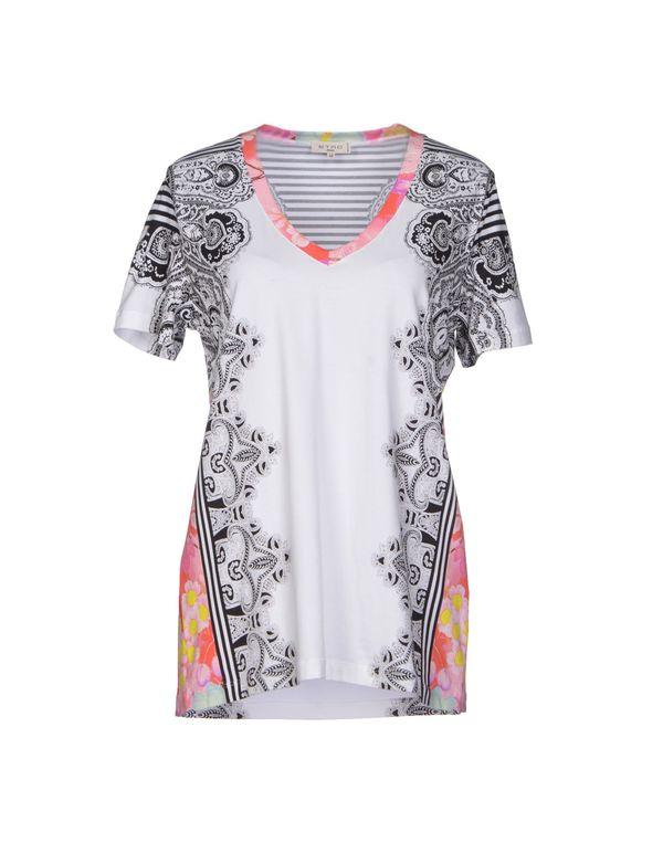 白色 ETRO T-shirt