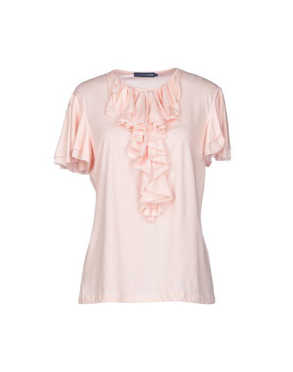 浅粉色 RALPH LAUREN T-shirt
