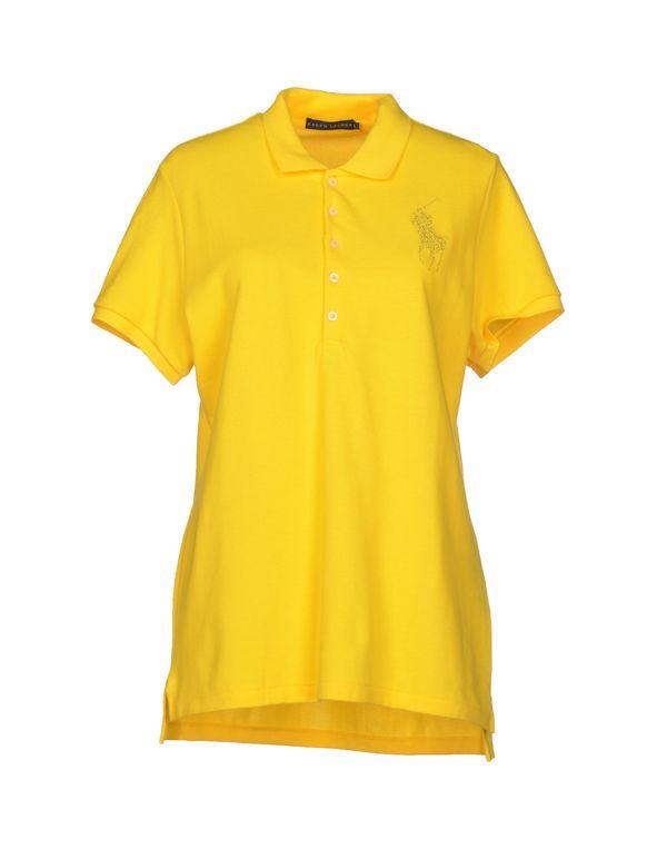 黄色 RALPH LAUREN Polo衫