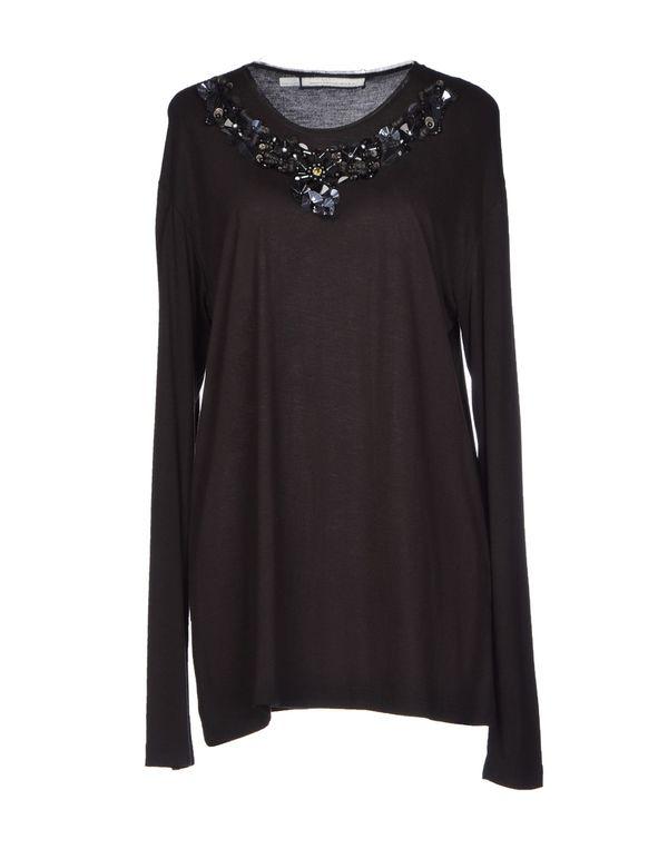 黑色 AQUILANO-RIMONDI T-shirt