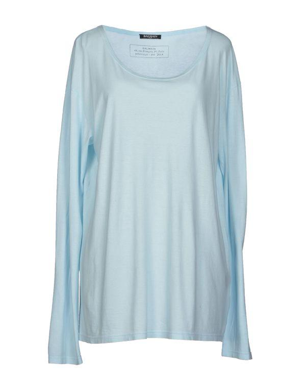 天蓝 BALMAIN T-shirt