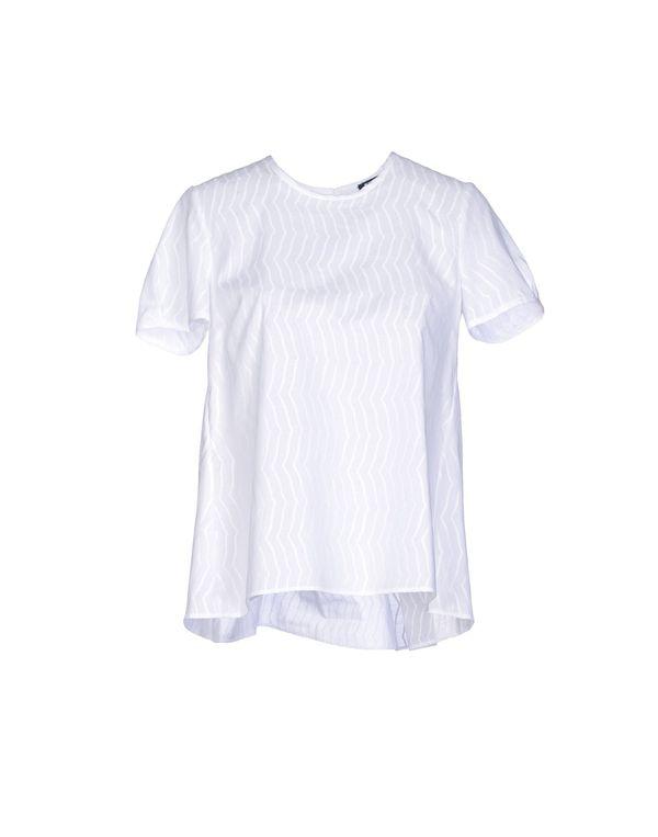 白色 JIL SANDER NAVY 女士衬衫