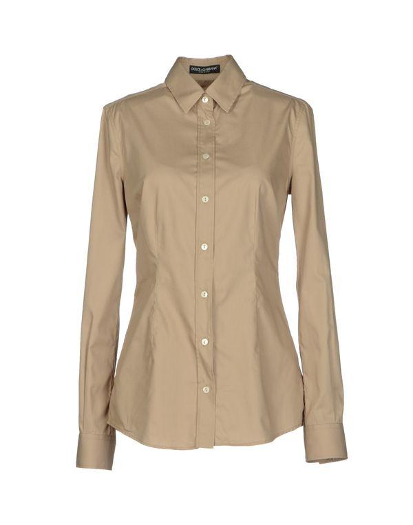 沙色 DOLCE & GABBANA Shirt