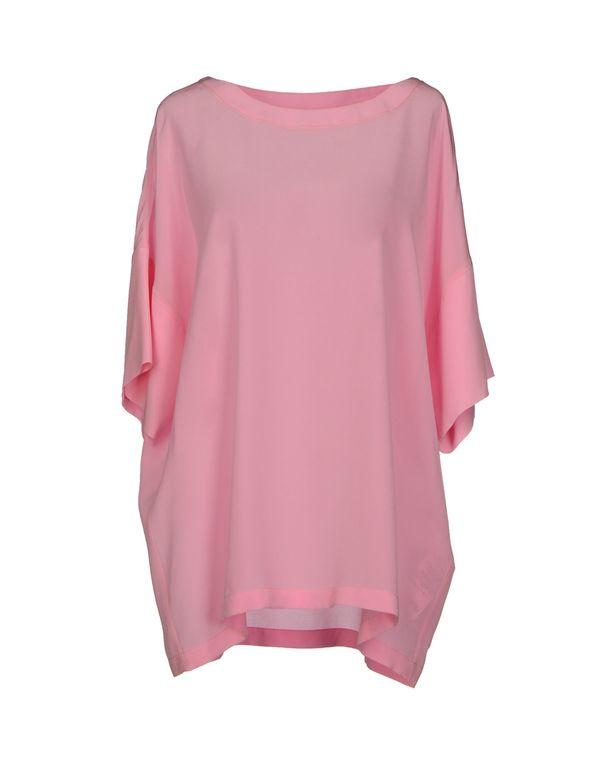 粉红色 M MISSONI 女士衬衫