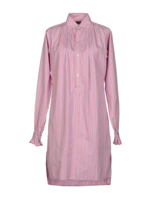 粉红色 RALPH LAUREN 短款连衣裙