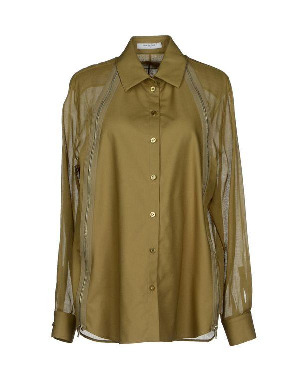 军绿色 GIVENCHY Shirt