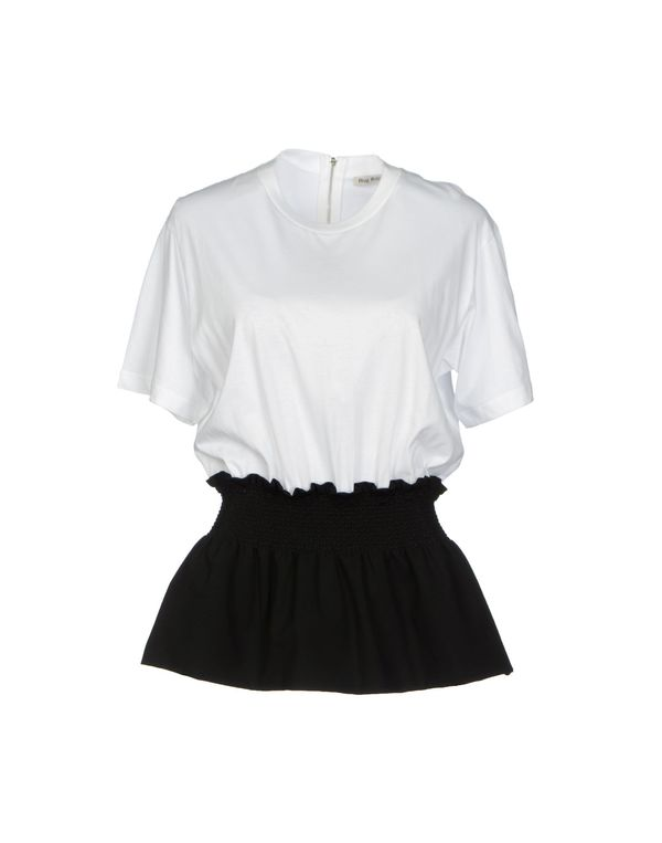 白色 MIU MIU T-shirt