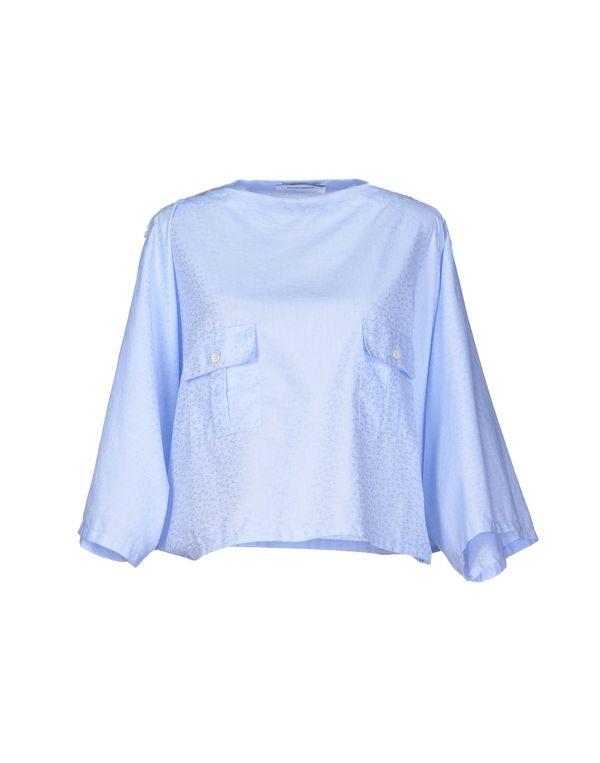 天蓝 MAURO GRIFONI 女士衬衫
