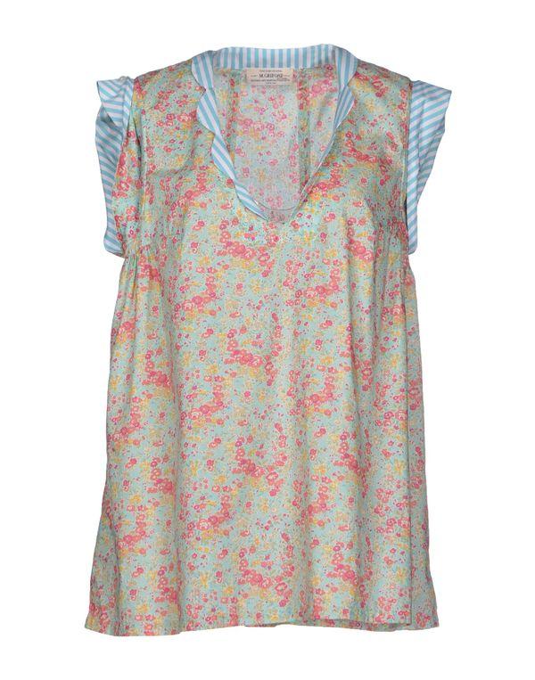 浅绿色 M.GRIFONI DENIM 女士衬衫
