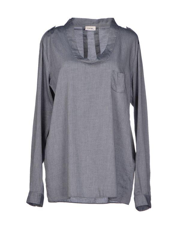 灰色 M.GRIFONI DENIM 女士衬衫