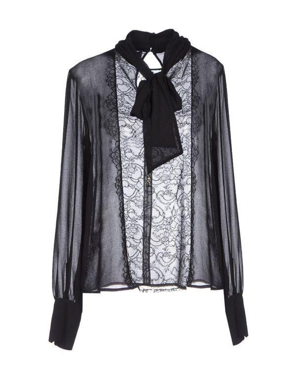 黑色 ELISABETTA FRANCHI 女士衬衫