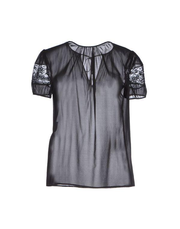 黑色 REDVALENTINO 女士衬衫