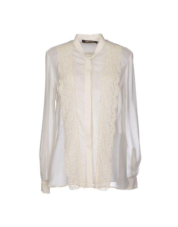 象牙白 ROBERTO CAVALLI Shirt