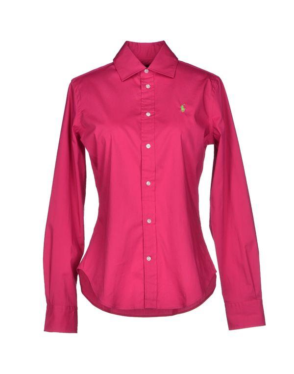 玫红色 RALPH LAUREN Shirt