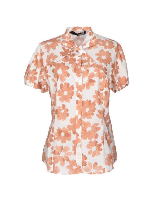 白色 LOVE MOSCHINO Shirt