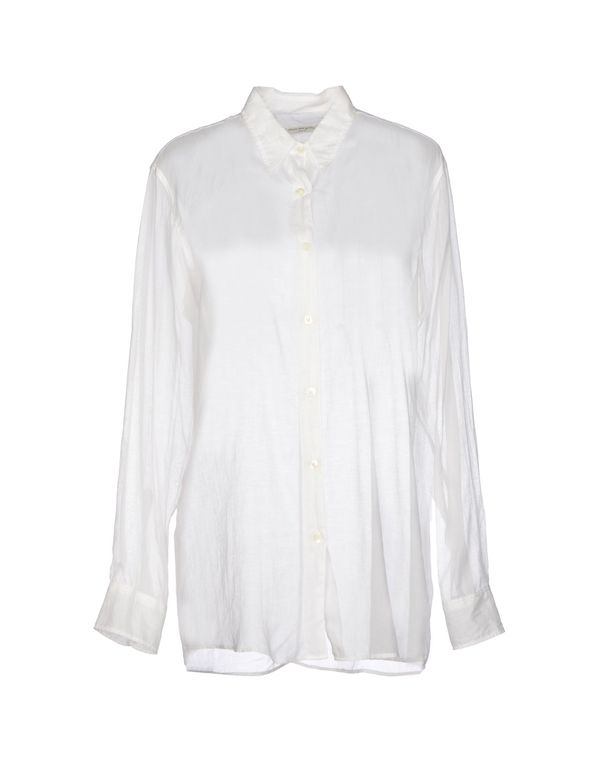 白色 DRIES VAN NOTEN Shirt