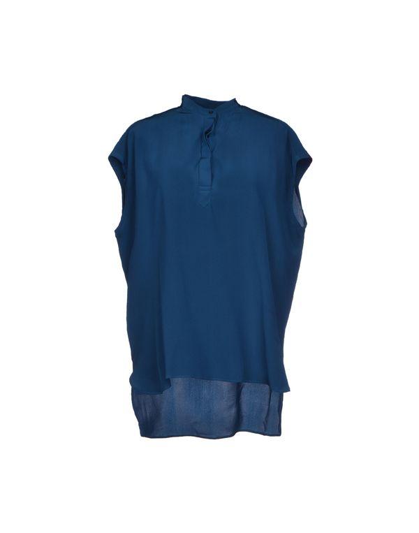 孔雀绿 NEIL BARRETT 女士衬衫