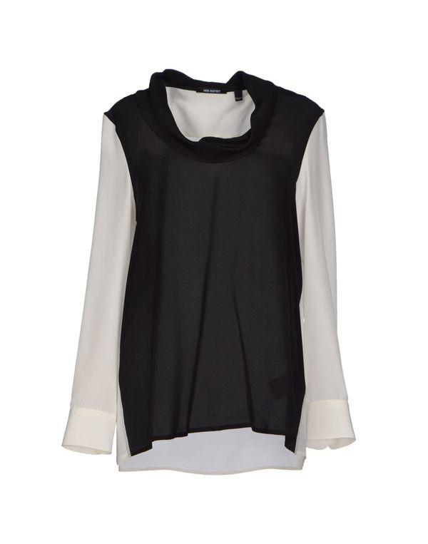 黑色 NEIL BARRETT 女士衬衫