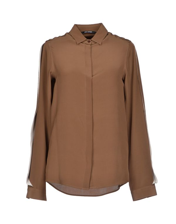 棕色 NEIL BARRETT Shirt