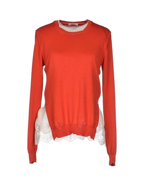 铁锈红 SEMI-COUTURE 套衫