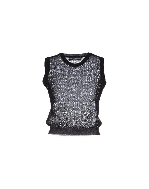 黑色 DOLCE & GABBANA 套衫