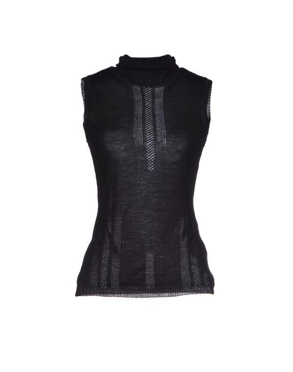 黑色 VERSACE COLLECTION 圆领针织衫