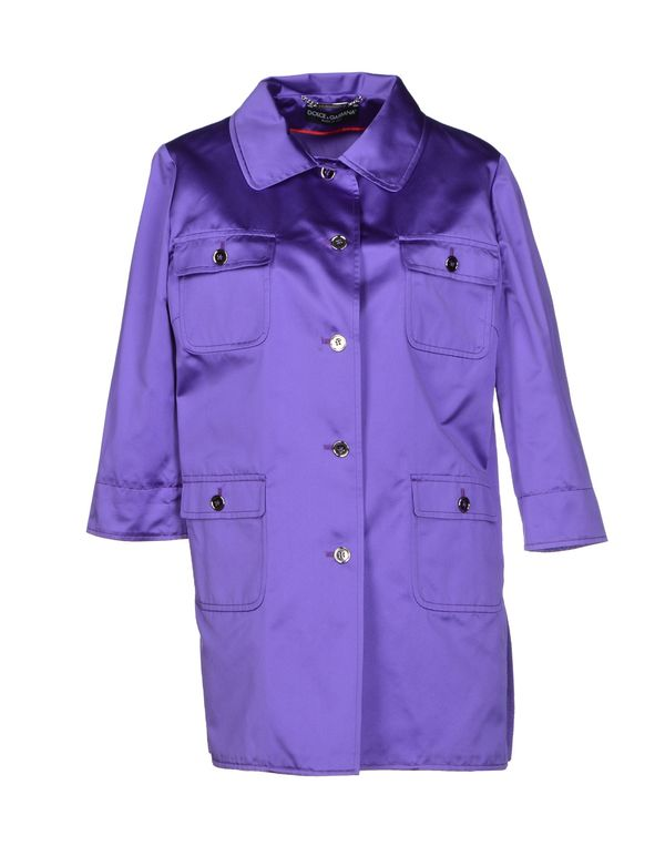 紫色 DOLCE & GABBANA 外套