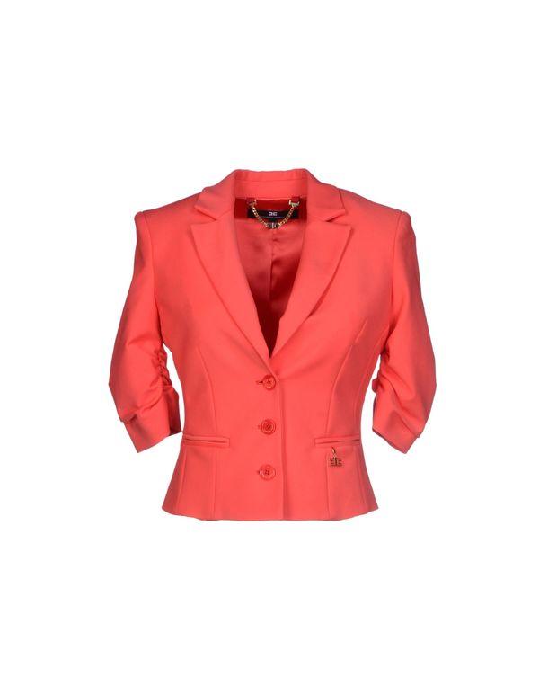 珊瑚红 ELISABETTA FRANCHI 西装上衣