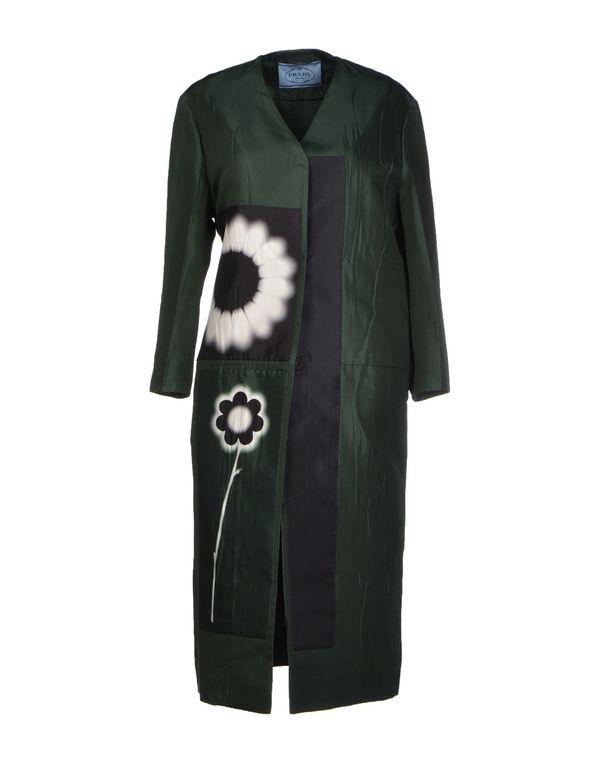 深绿色 PRADA 外套