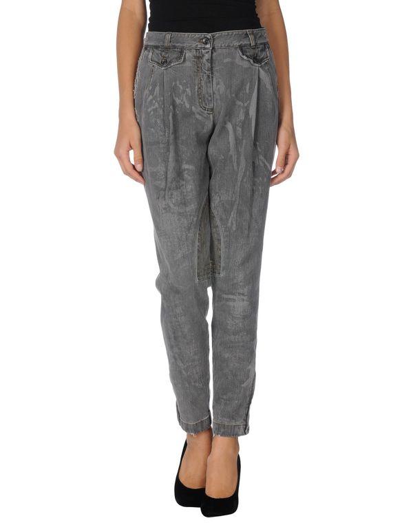 灰色 DOLCE & GABBANA 牛仔裤