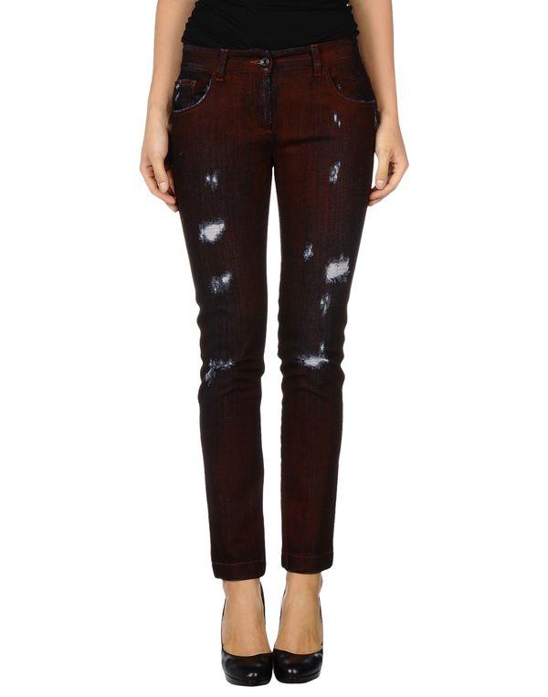 砖红 DOLCE & GABBANA 牛仔裤