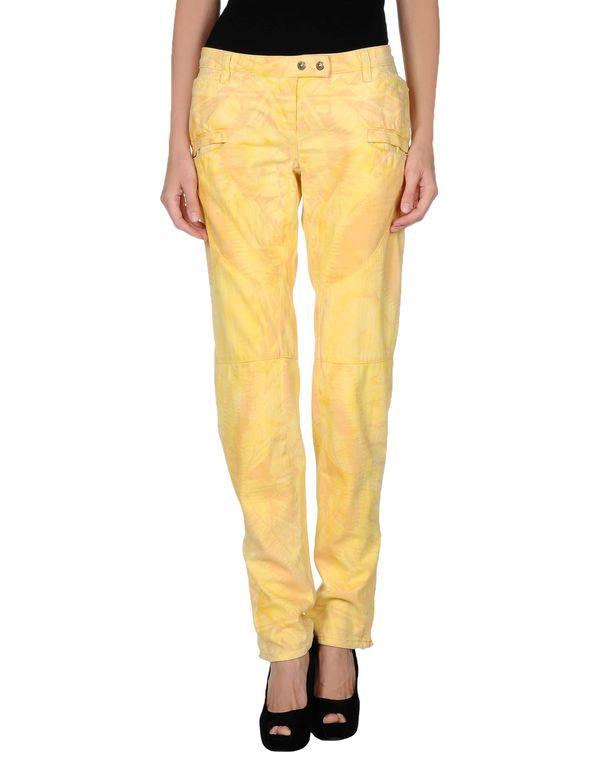 黄色 BALMAIN 牛仔裤