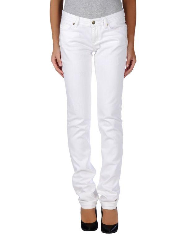 白色 D&G 牛仔裤
