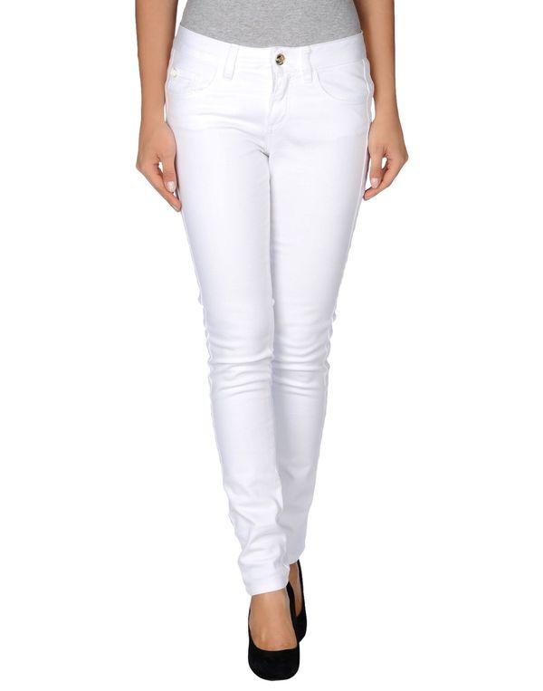 白色 BLUGIRL BLUMARINE 牛仔裤