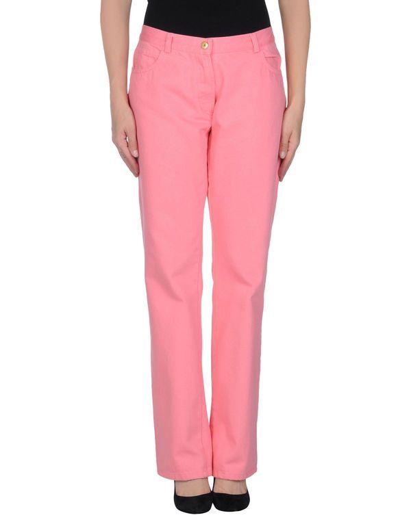 粉红色 ERMANNO SCERVINO 牛仔裤