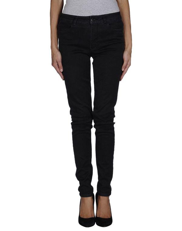黑色 PRADA 牛仔裤