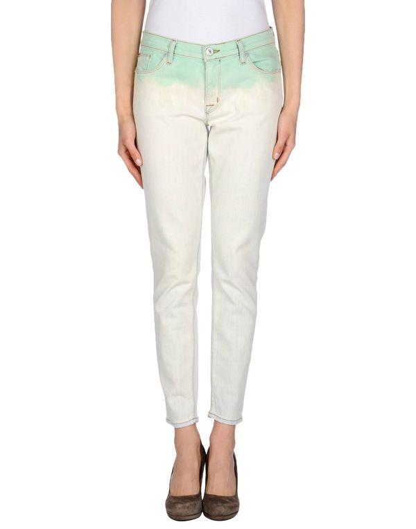 浅绿色 HUDSON 牛仔裤
