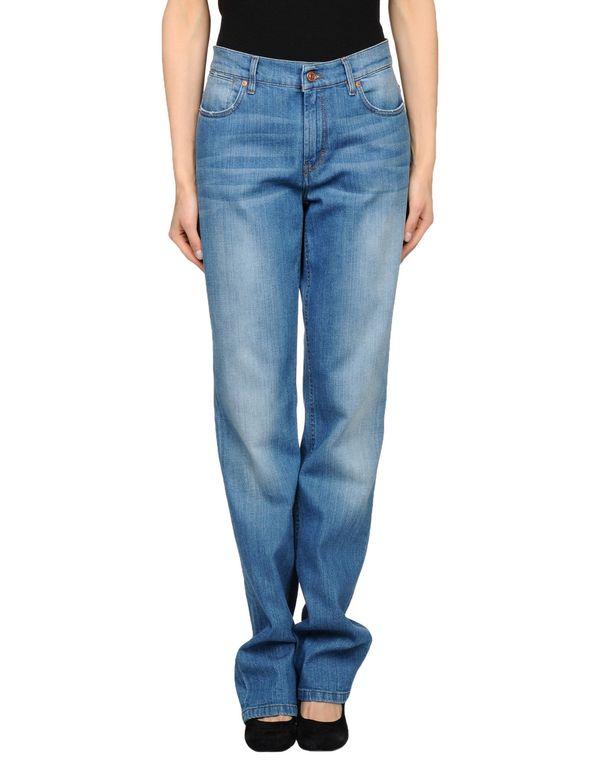 蓝色 ESCADA SPORT 牛仔裤