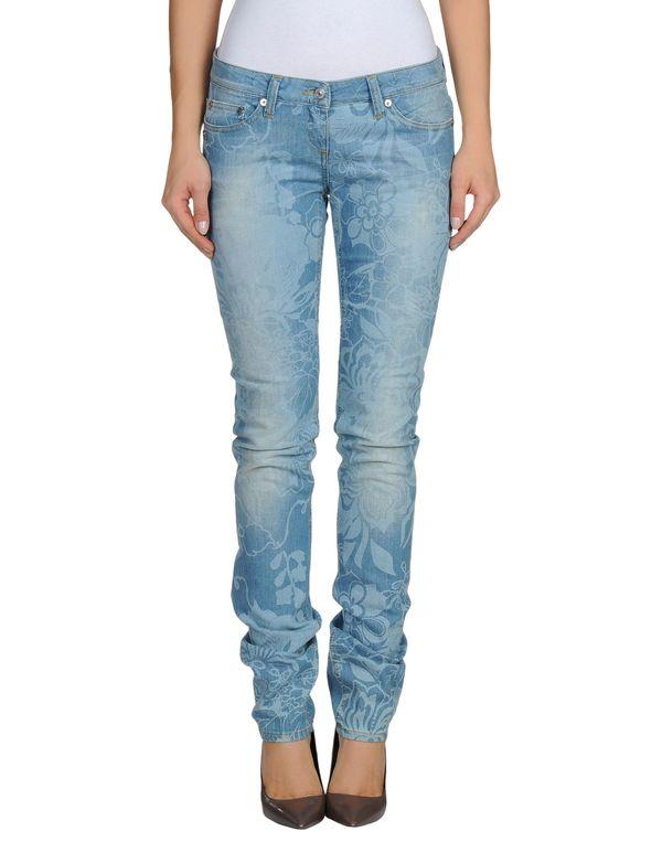 蓝色 D.A. DANIELE ALESSANDRINI 牛仔裤