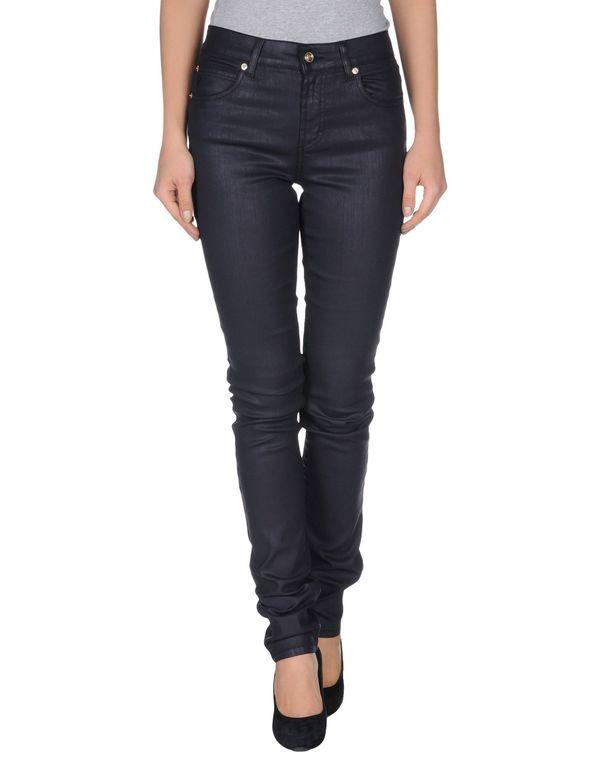 深紫 GALLIANO 牛仔裤