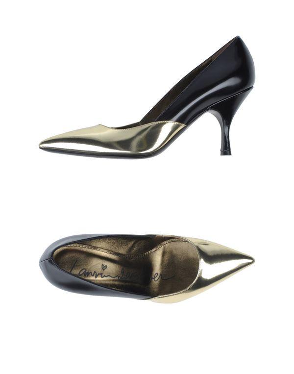 黑色 LANVIN 高跟鞋