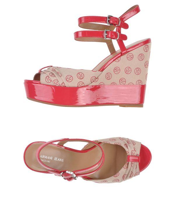 沙色 ARMANI JEANS 凉鞋