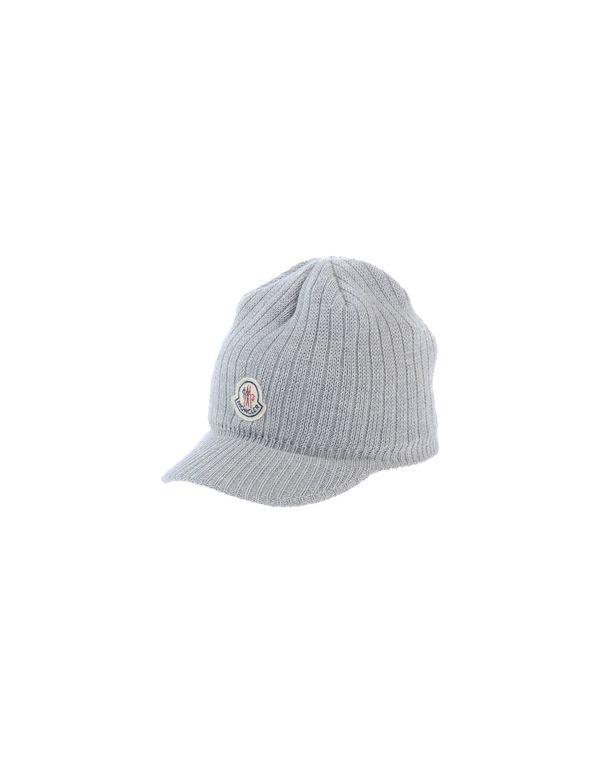 淡灰色 MONCLER 帽子